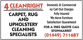 4 Cleanright advert