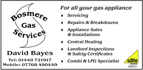 Bosmere Gas Services advert