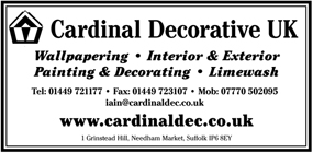 Cardinal Decorative UK advert