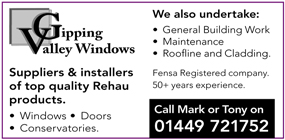 Gipping Valley Windows advert