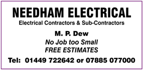 Needham Electrical advert