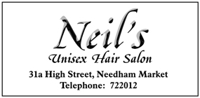 Neil's Unisex Hair Salon advert